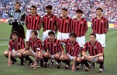 AC Milan 1987-1996- The Best AC Milan Team Ever #soccer