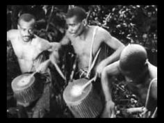 Oldest African drumming footage ever - way cool.