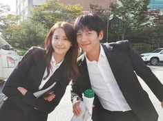 The K2 stars Ji Chang Wook and Yoona meet fans to deliver their first ratings promise