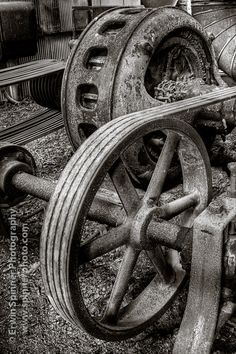 """Pulley"" by Erwin Spinner Photography, via 500px."