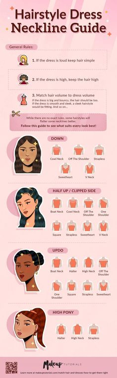 What are we still waiting for? Let's learn the age-old hairstyle tricks in the stylebook so you'll look fabulous on your next day out. 💗  #MakeupTutorials #Hairstyles Old Hairstyles, No Heat Hairstyles, Sleek Hairstyles, Dress Hairstyles, Fashion Hairstyles, Vintage Hairstyles, Neckline Guide, Cool Braids, Necklines For Dresses