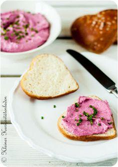 Rote-Beete-Frischkäse-Creme
