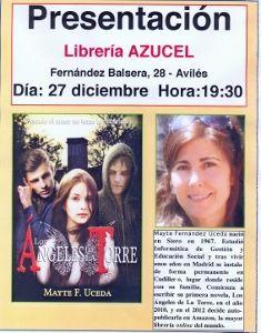 Presentación en librería Azucel.