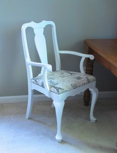 How to recover a dining chair with a drop in seat