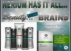 Join my team and be ready for the release of EHT Age-Defying Supplement! www.courtneymcdonald.nerium.com