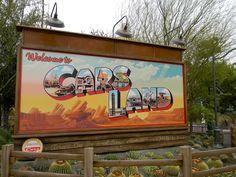 Carsland Part Signs that you are entering Radiator Springs Disneyland California, Disney California Adventure, California Love, Disneyland Photos, Disney Parks, Walt Disney World, Cosplay Events, Radiator Springs, Tumblr Quality