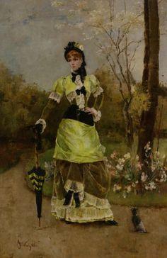 Alfred Stevens, Sa majesté la Parisienne, (1880)