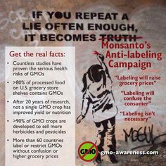Monsanto. I seriously encourage everyone I know to do more research on Monsanto and their products. http://www.smarthealthtalk.com/sb-1381-label-gmos-california.html