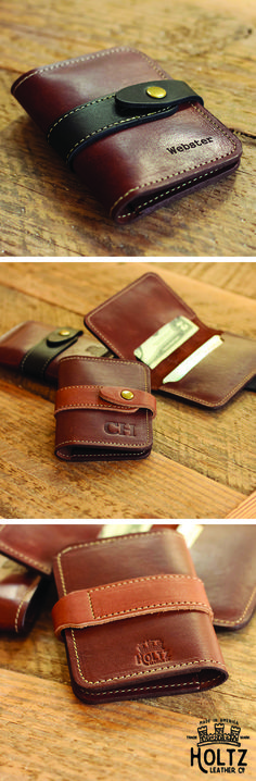 No. 11 Doolittle Fine Leather Wallet is handmade right here in our shop with the…