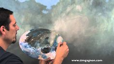 Oil Painting Tips Tricks and Techniques from Tim Gagnon.  Using liquin m...