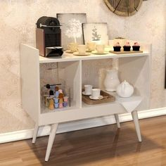 Decor, Furniture, Coffee Bar Home, Bedroom Interior, Living Room Decor, Home Decor, Home Coffee Stations, Interior Design Bedroom, Dorm Room Diy