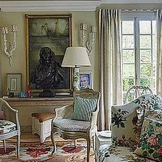 Rita Konig Explores Interior Designer Nicky Halsam's Quaint English Country Home in WSJ Magazine
