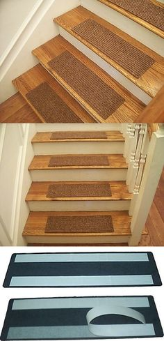 Stair Treads 175517 Best Quality Affordable Bullnose Carpet Non Skid Strip Set Of 15 It Now Only 69 99 O