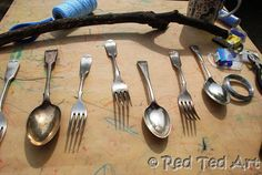 How To Make Cutlery Wind Chimes