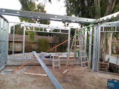 בניית בית לב בגת: יישור קירות
