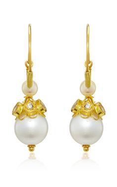 Gold Raj Collection Earrings by Sanjay Kasliwal Earrings, Collection, Women, Fashion, Ear Rings, Moda, Stud Earrings, Fashion Styles, Ear Piercings