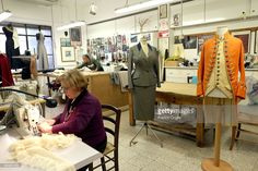 Tailors work at the Tirelli Atelier on February 20 2015 in Rome Italy... Foto di attualità | Getty Images