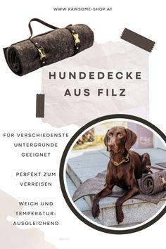 Hundedecke   Filzdecke für Hunde   Handgemacht   Pawsome Shopping, Dog Accessories, Felting, Handmade
