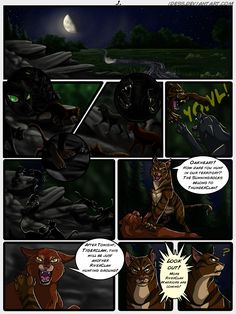 Warriors Intro Comic - Page 1 by Idess on DeviantArt