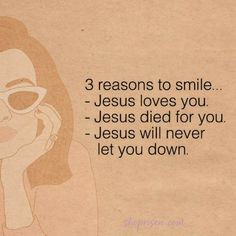 Smile, Jesus loves you. Bible Verses Quotes, Jesus Quotes, Bible Scriptures, Faith Quotes, Spiritual Quotes, Positive Quotes, Godly Relationship, God Loves Me, Quotes About God
