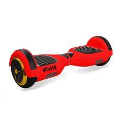 HOVSTR i1 Red/Gold Self Balance Scooter, Hoverboard, Self Balance Wheel, Self Balance Board, Hover, Red October