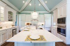 White Alexandria Kitchen - traditional - Kitchen - Toronto - Elmwood Fine Custom Cabinetry