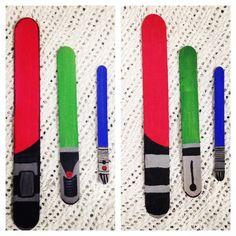 tongue depressor light sabers