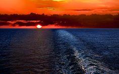 Ocean View Scenery | Description: The Wallpaper above is Sunset ocean scenery Wallpaper in ...