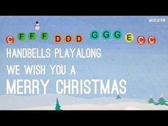 We Wish You a Merry Christmas - Handbells - YouTube