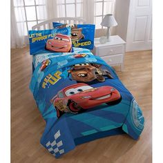 Disney Cars 2 Full Bedding Comforter Sheet Set Collection * Continue to the product at the image link. Twin Sheets, Twin Sheet Sets, Bed Sheets, Disney Cars Characters, Disney Pixar, Car Bed, Beds For Sale, One Bedroom, Kids Bedroom