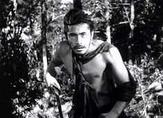 The bandit Tajomaro played by Toshiro Mifune. Rashomon.