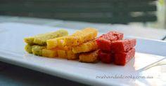 Vegetable polenta fingers