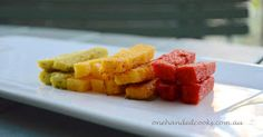Vegetable polenta fingers