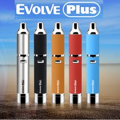 Yocan Evolve PLUS wax pen offers QDC and ceramic donut vaping options. An amazing wax pen with a silicone jar built into the base of the battery. From YocanUSA.com