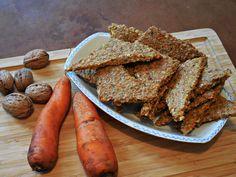 Möhren-Nuss-Brot/Cracker | roh vegan
