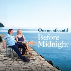 Jesse and Celeste return in Before Midnight! Before Midnight, One Month, Romance, Marvel, My Love, Movie Posters, Movies, Watch, 2016 Movies