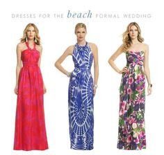 Maxi Dresses For Beach Wedding Formal Attire Guest