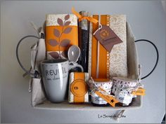 Panier gourmand Diy Food Gifts, Homemade Gifts, Diy Cadeau Noel, Hamper, Gift Baskets, Teacher Gifts, Christmas Diy, Giveaway, Hui