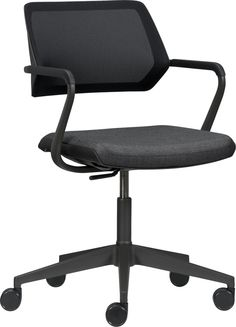 Steelcase® QiVi™ Office Chair  | Crate and Barrel