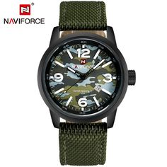 2016 New Luxury Top Brand NAVIFORCE Men Army Military Watches Men's Sports Quartz Clock Waterproof Wrist Watch Relogio Masculino - Online Shopping for Watches