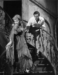Vivien Leigh and Marlon Brando in A Streetcar Named Desire directed by Elia Kazan, 1951