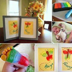 bebek ayak izi hatırası