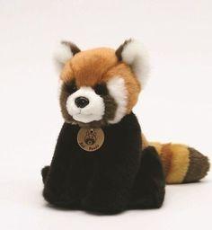 "9"" Red Panda Plush Stuffed Animal Toy"