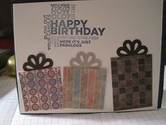stampin' up february birthday card ideas for teen boys - Google Search