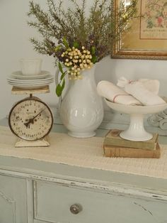 Chateau Chic: Simple and White