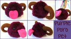 by weebird on DeviantArt Sewing Kit, Hand Sewing, Beady Eye, Purple, Pink, Deviantart, Sewing By Hand, Pink Hair, Viola