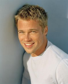 "Brad Pitt before he got ""Jolied"" and weird. I miss you early Brad."