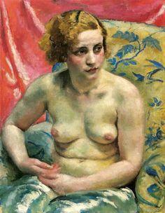 Weiss, Wojciech (1875-1950) - Model (Lviv Art Gallery, Ukr… | Flickr