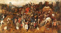 Pieter Bruegel the Elder - The Wine of Saint Martin's Day - 1565-1568