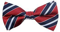 OCIA® Mens Stripe Woven Pre Tied Handmade Bow Tie - ND004... https://www.amazon.com/dp/B01F3WWE80/ref=cm_sw_r_pi_dp_p2hHxbS70NQCS
